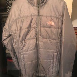 North face light winter jacket